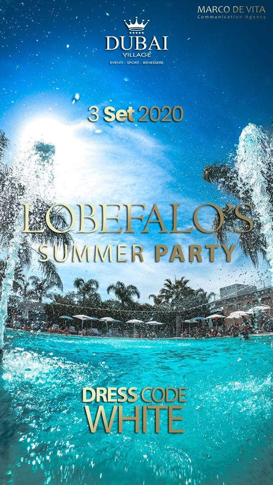 Lobefalo's Summer White Party