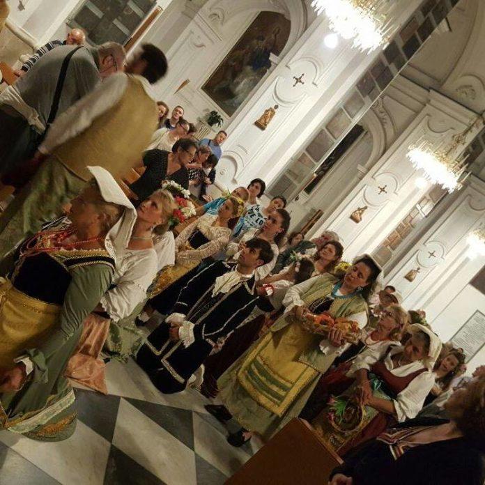 foto rievocazione pellegrinaggio