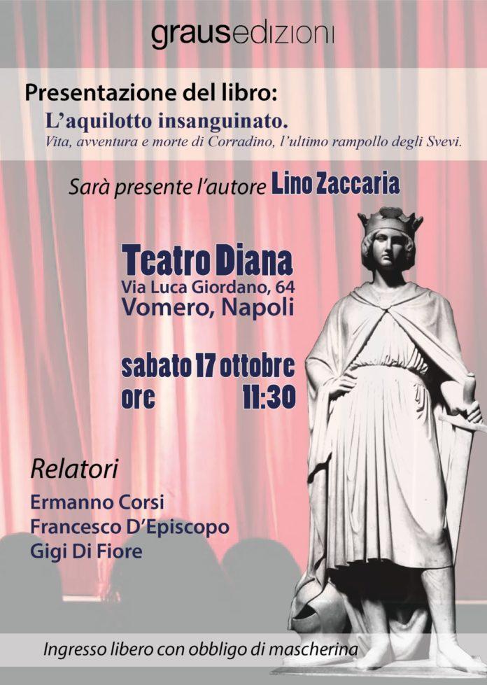 """Al Teatro Diana """"L'Aquilotto insanguinato"""" di Lino Zaccaria"""