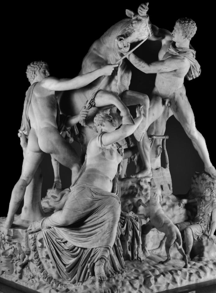 Toro Farnese fonte foto sito MANN