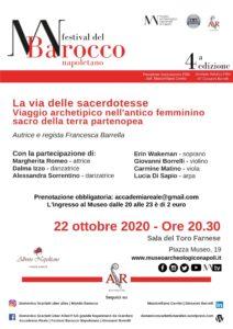 """locandina 22 ottobre """"La Via delle Sacerdotesse"""""""