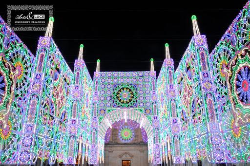 luminarie natalizie fonte foto web