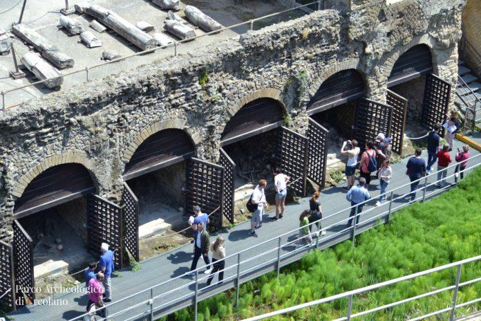 Fornici parco archeologico di Ercolano
