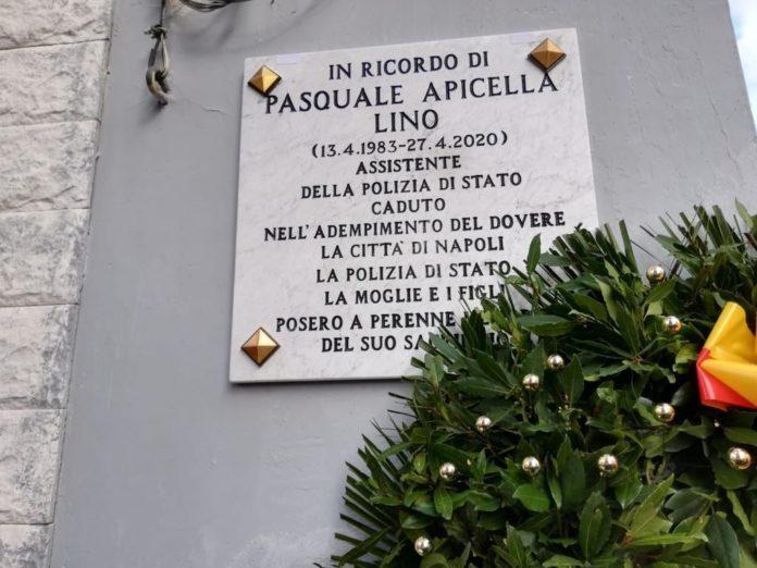 targa aApicella fonte foto pagina social Questura di Napoli