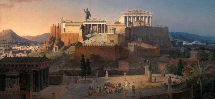 antica grecia fonte foto web