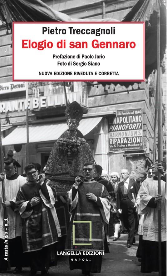copertina elogio di san gennaro foto copertina Mario Siano