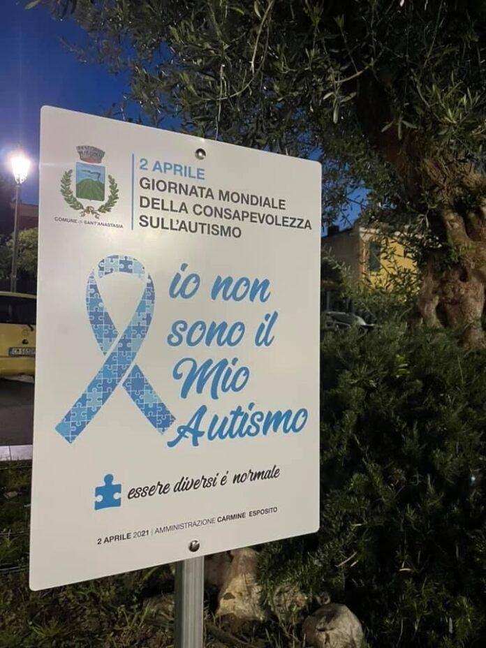 Giornata mondiale per la consapevolezza sull'autismo s.anastasia